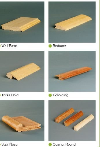 Bamboo flooring accessories