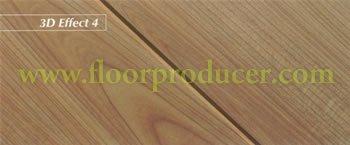 Jademask mould pressed v-groove laminated flooring
