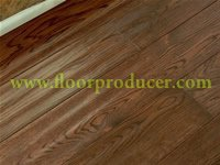 Hand scraped laminated flooring
