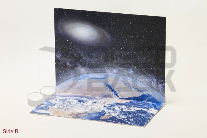 Decoback Space Stage for Toys e.g Ertl Jada Kyosho Maisto Minichamps NASCAR Tomica