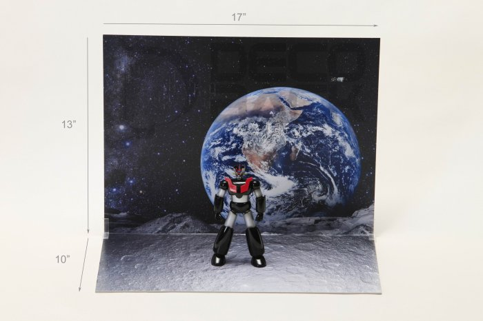 Decoback Space Stage for Toys e.g soul of Chogokin sd gundam robot SIC