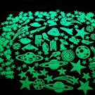 300+ Piece Glow in the Dark Stars Deluxe Decorating Kit