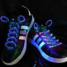 LED Lighted Shoelaces- Blue