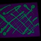 2oz Green Blacklight Reactive Fluorescent Tempera Paint