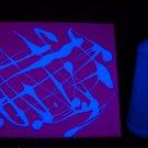 16oz Blue Blacklight Reactive Fluorescent Tempera Paint