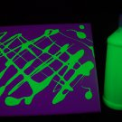 16oz Yellow Blacklight Reactive Fluorescent Tempera Paint