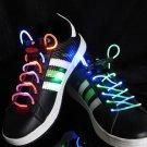 LED Lighted Shoelaces- Rainbow