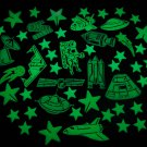 50+ Piece Glow in the Dark Stars Astronaut Set