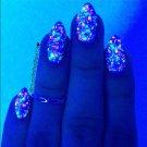 UV Blacklight Reactive Neon Glitter Nail Polish- Haywire