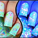 Color Changing Thermal Nail Polish with Blended UV Indie Glitter- Minty Madness