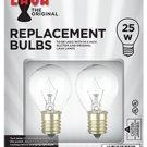 "Lava Lamp 25 Watt Replacement Bulbs for 14.5""/20oz Lamp"