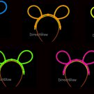 Set of 5 Assorted Glow Bunny Ears