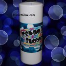 32oz BLUE Blacklight Reactive Tekno Bubbles with Free Bubbles Wands and UV Marker