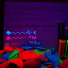 1oz Tekno Bubbles Party Pack- 2x bubbles- 25 UV balloons- 3 Invisible UV Markers