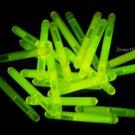 1.5 inch Mini YELLOW Glow Stick- 50 per package