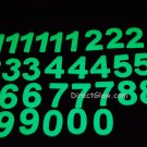 33 Piece Glow in the Dark Number Set