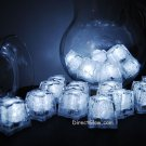 Set of 24 White Litecubes Brand Light up LED Ice Cubes