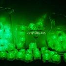 Set of 72 Green Litecubes Brand Light up LED Ice Cubes