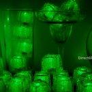 Set of 96 Green Litecubes Brand Light up LED Ice Cubes