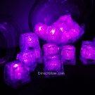 Set of 24 Pink Litecubes Brand Light up LED Ice Cubes
