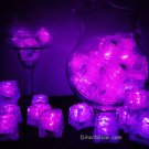 Set of 48 Pink Litecubes Brand Light up LED Ice Cubes