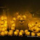 Set of 72 Yellow Litecubes Brand Light up LED Ice Cubes