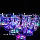 Set of 12 MultiColor LED Light Up Shot Glasses
