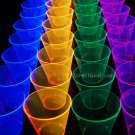 Assorted Neon Blacklight Reactive 9oz Party Cups 50ct