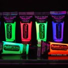 PaintGlow 10ml/.34oz Glow in the Dark Face and Body Paint- 8 Piece Variety Pack