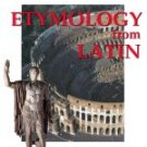 Introduction to Etymology Book I
