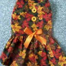 FALL LEAVES Dog Clothes Dress ~ 3 Sizes