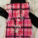 Girls PUNK SNUGGLY Vest Dog Clothes: XXS - MED
