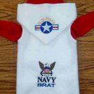 U.S. Navy SNUGGLY Vest Dog Clothes: XS & SM