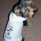 Licker SNUGGLY Vest Dog Clothes: XS & SM