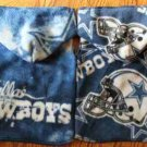 NFL Dallas Cowboys Football Dog Clothes Snuggly XS or SM (Med)