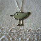 Sandpiper Bird Necklace