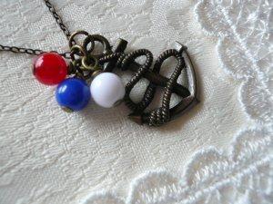 Bon Voyage Sea Anchor Necklace