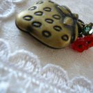 Sweet Strawberry Fruit Locket Necklace