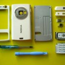 White Full Faceplate Housing Cover For Nokia N95 With Tools