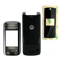 Black Faceplate Housing Cover Case for Motorola K1