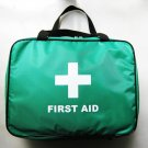 First Aid Bag Empty 4 Pouch Bag Green