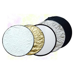 5 in 1 Light Collapsible Reflector 60cm