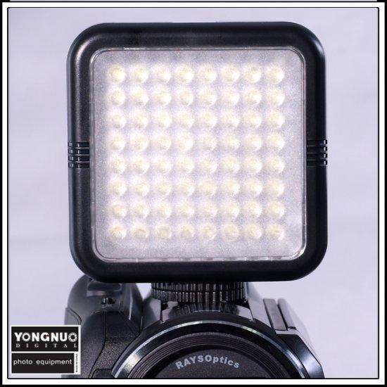 64 LED Video Light for DV Camcorder Lighting