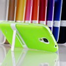 TPU Cellphone Case Mobile Phone Cover Stand Holder For Samsung S4 I9500