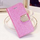 Shiny Mobile Phone Case Cellphone Cover With Card Sleeve For Iphone 5C