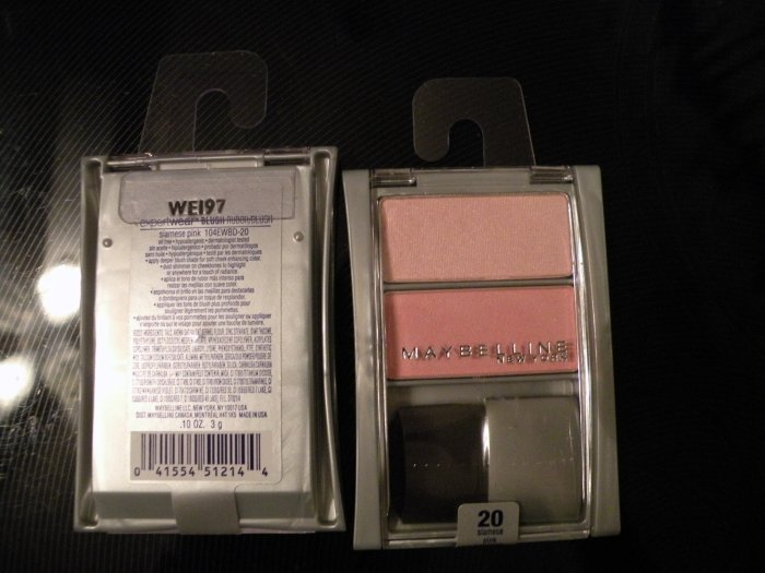 Maybelline expert wear Blush Duo: Siamese Pink