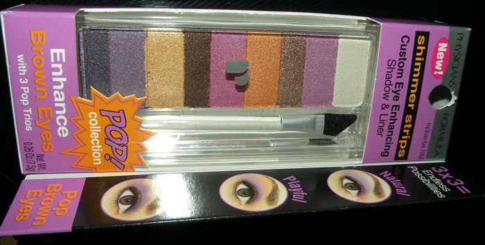 Physicians Formula Pop! Brown Eye Enhancing Shadow and Liner