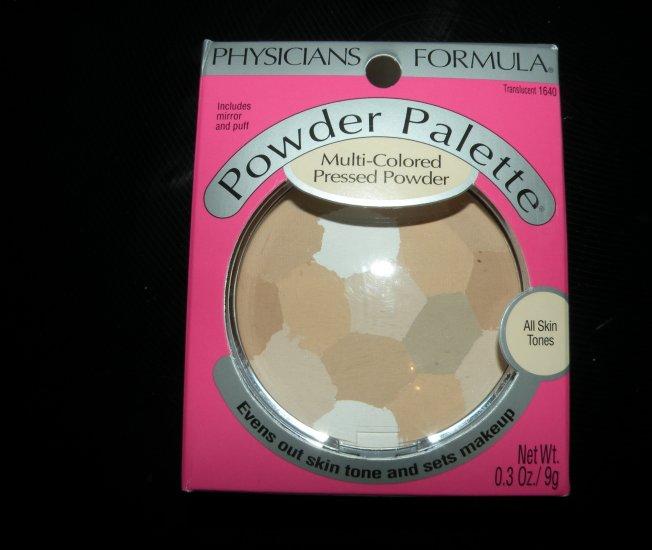 Physicians Formula Multi-Colored Pressed Powder: Translucent