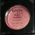 NYX Chrome Eyeshadow: Golden Pink 39 (loose powder) New in Package