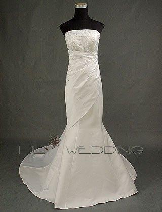 Inexpensive Wedding Dresses - Style LWD0007